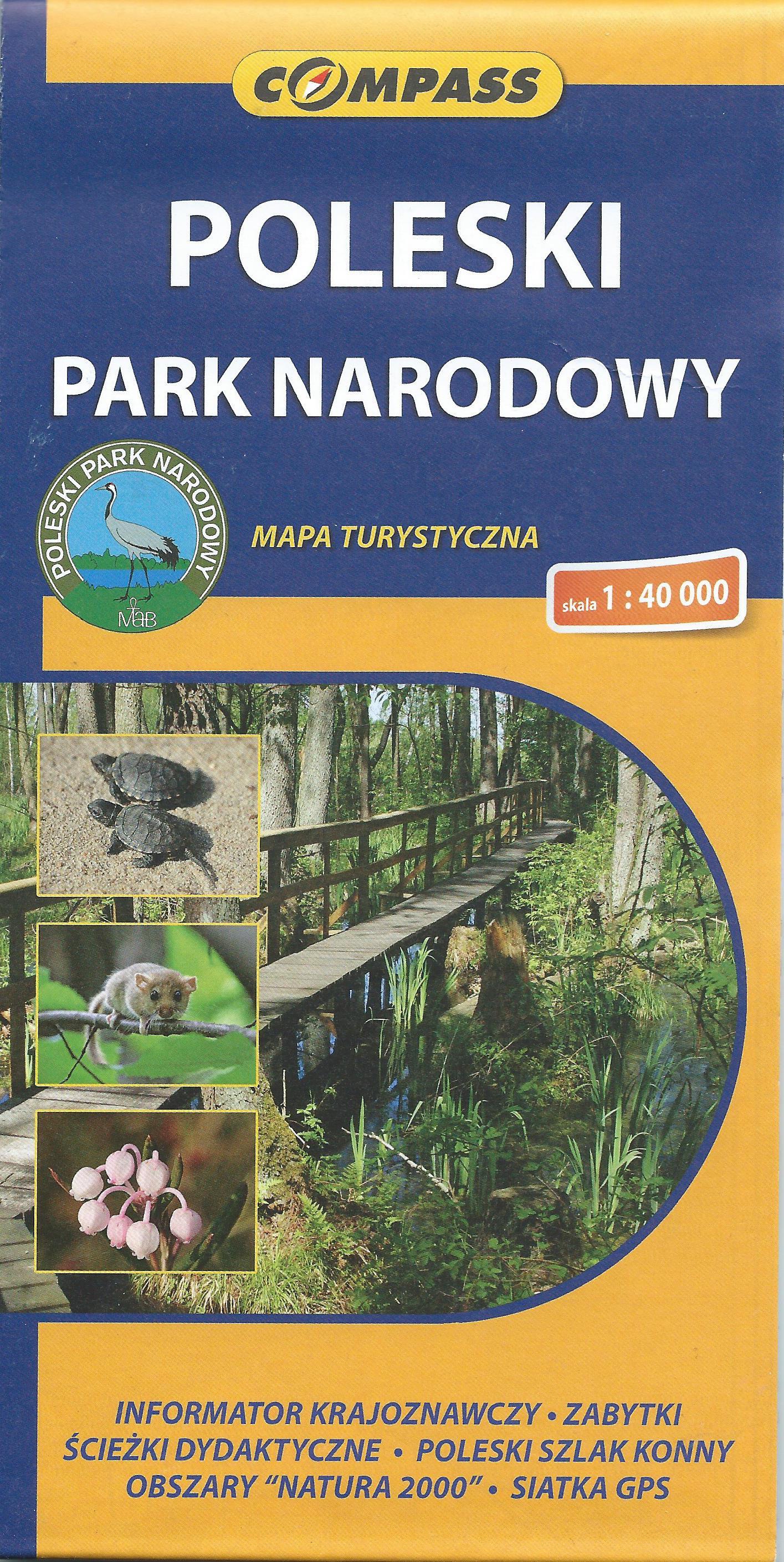 Poleski Park Narodowy (mapa rozkładana)