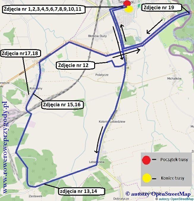 Mapa Wycieczka 44