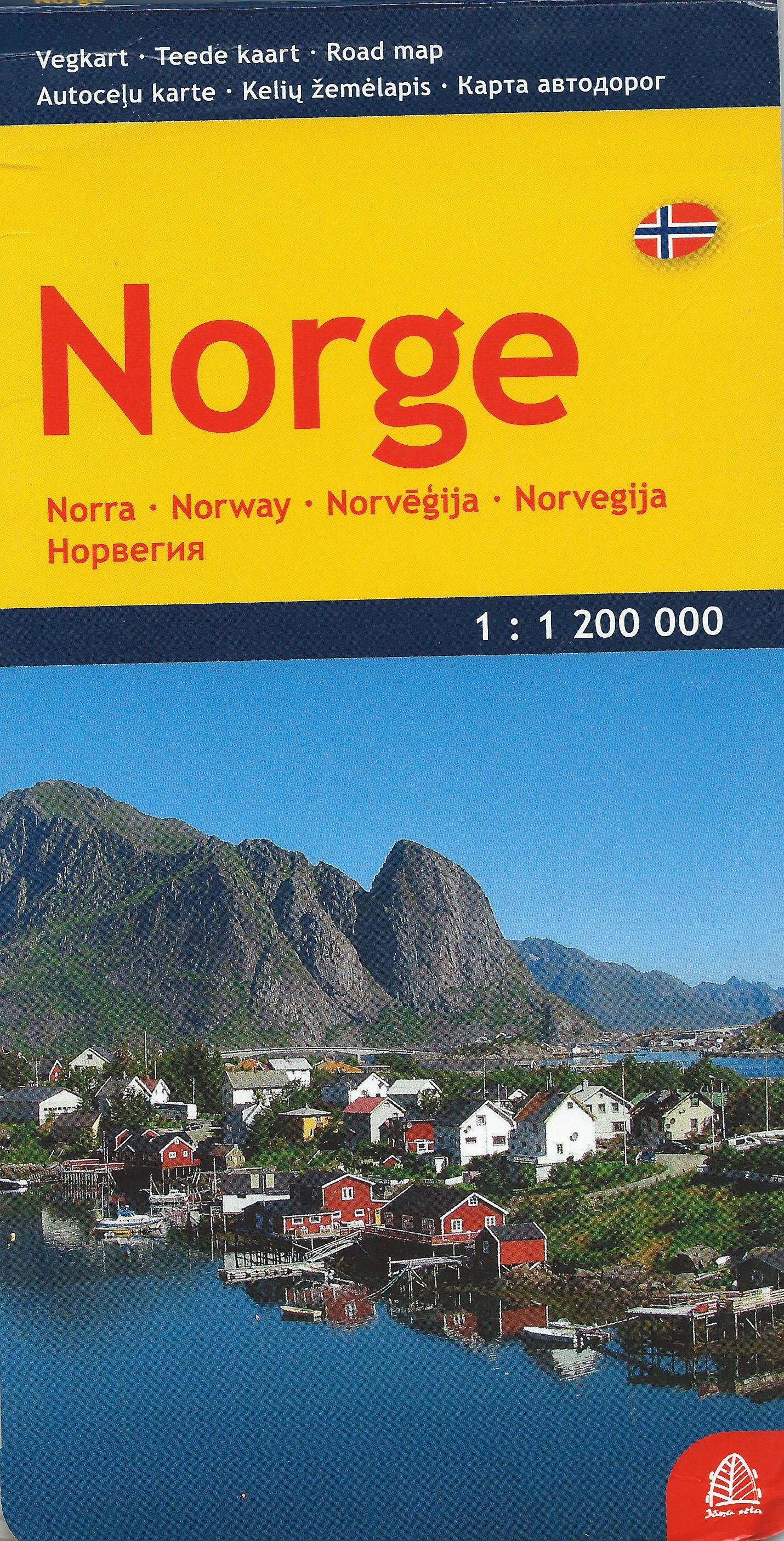 Norge (mapa rozkładana)
