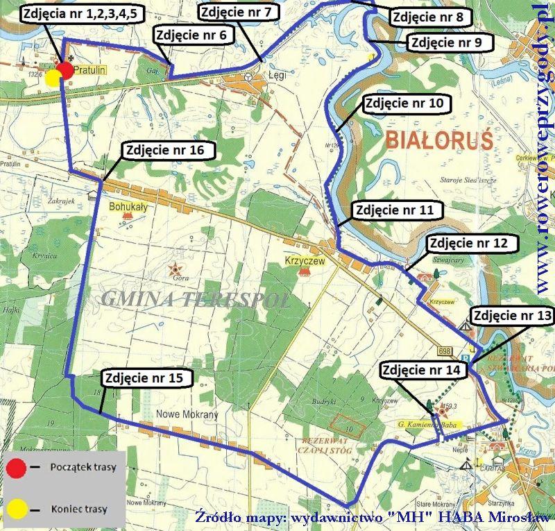Mapa Wycieczka 41 _ 1