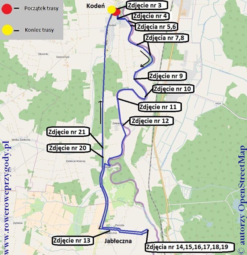 Mapa Wycieczka 47