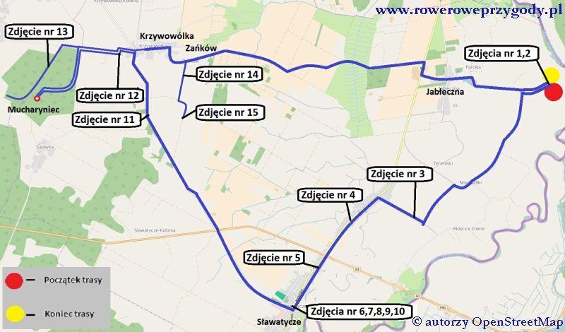 Mapa Wycieczka 48